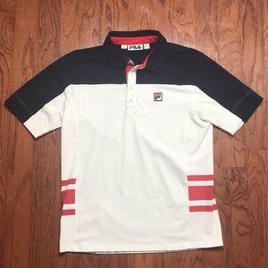 FILA vintage 90s polo shirt